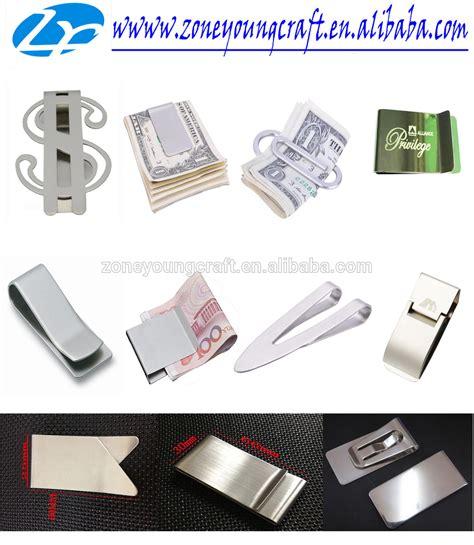 folding money clip fancy metal folding money clip with logo for promotion