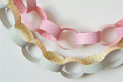 como hago cadenas de papel crepe guirnaldas de cumplea 241 os facilisimo