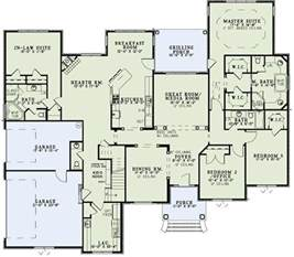 New Home Plans With Inlaw Suite by In Law Suite Home Plans Pinterest