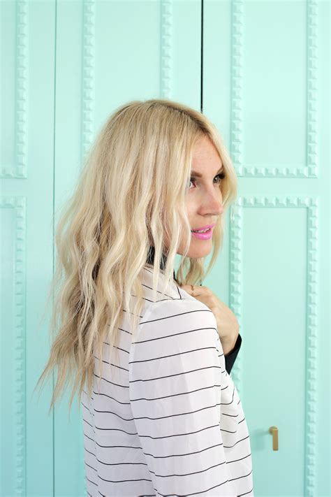 Hair Dryer Wave create soft waves with just a hair dryer a beautiful mess