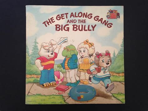 big bullies books the get along and the big bully vintage book by margo