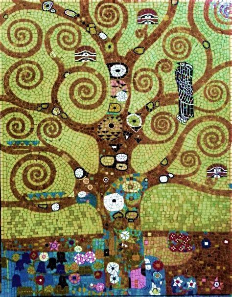Klimt La by L Arbre De Vie De Gustav Klimt 90x70cm Vente Mosa 239 Ques