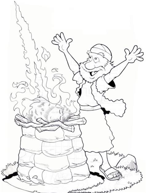printable coloring pages elijah elijah the prophet coloring pages the sunday school