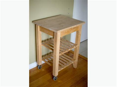 Bekvam Kitchen Cart by Bekvam Solid Birch Kitchen Cart Gloucester Ottawa