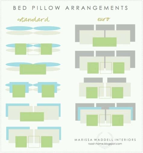 bed pillow arrangement ideas glitter glue