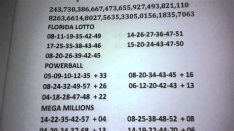 scorpio lucky numbers to win the lottery youtube