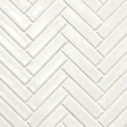 beltile glossy white herringbone glazed porcelain mosaic