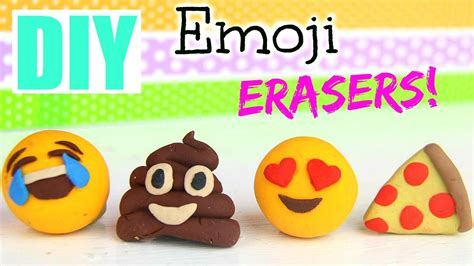 emoji erasers diy emoji erasers back to school 2015 funnycat tv