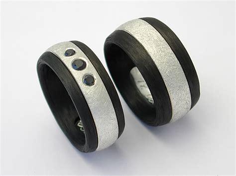 Eheringe Carbon Silber by Ringe Aus Gold Palladium Silber Edelmetallen Edelstahl