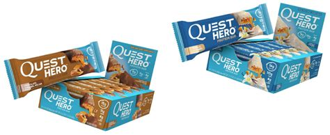 amazon quest bars quest hero protein bars 10 count 11 02 wheel n deal mama