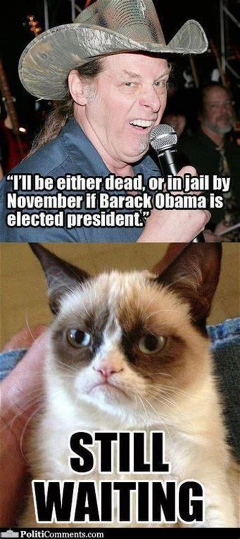 Ted Nugent Memes - grumpy cat on pinterest