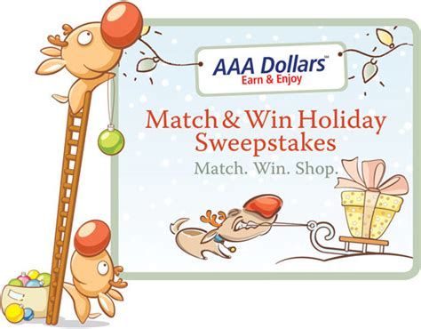 Www Aaa Com Sweepstakes - aaa match win holiday sweepstakes 2010