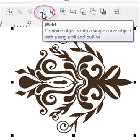 desain batik dengan coreldraw tutorial cara membuat batik di coreldraw update area