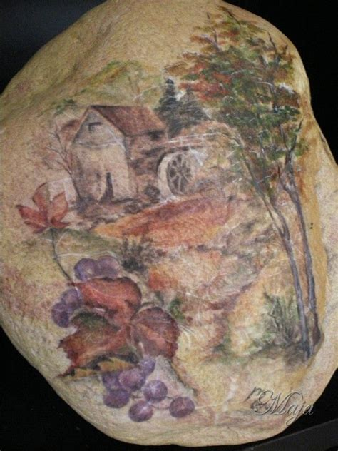 Decoupage Rocks - 94 best images about soap shell l comb handmade