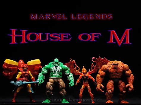 House Of M by Marvellegends Net Marvel Legends House Of M Gift Set