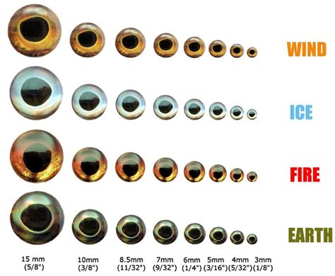 how many eye colors are there e fish skull living