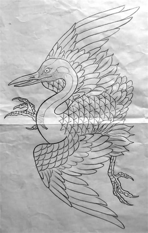 japanese crane tattoo designs 19 amazing crane designs