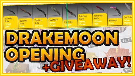 Drakemoon Giveaway - otwieramy skrzyneczki drakemoon cs go giveway