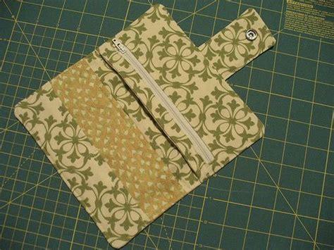 tutorial wallet fabric free wallet pattern tutorial fabric accessories pinterest
