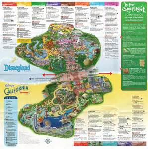 a map of disney s parks disneyland and california