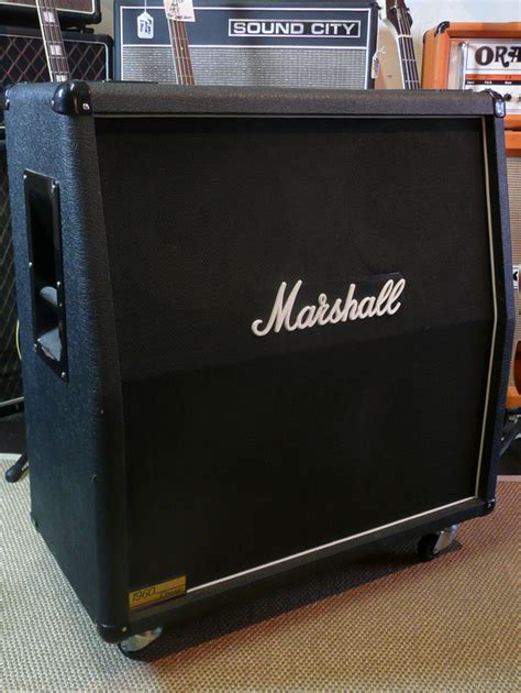 Marshall Cabinet 1960 by Marshall 1960 Model 4 215 12 Cabinet 1990 S For Sale