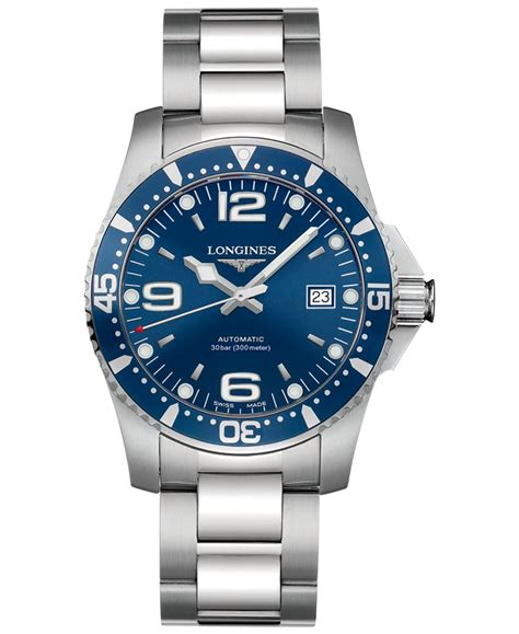 longines s swiss automatic hydroconquest stainless