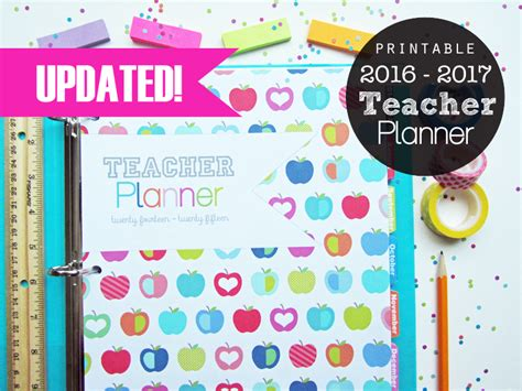 life planner printables free 2016 clean life and home printable planners