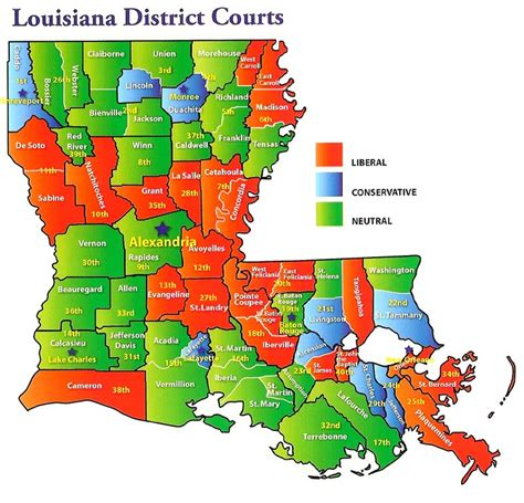 Louisiana District Court Search Map Of La Courts Vasser Vasser Firm