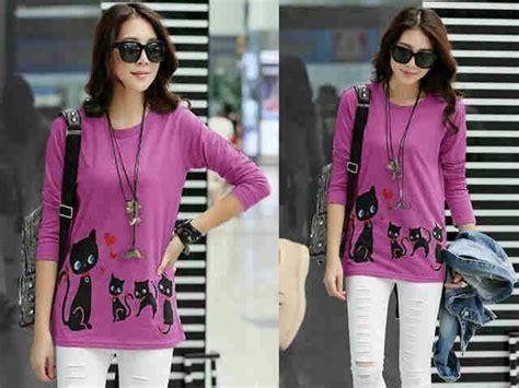 Baju Murah Atasan Wanita Blouse baju atasan blouse wanita magenta cantik modis model terbaru murah