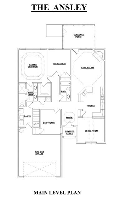 the ansley floor plan the ansley floor plan the ansley 6326 5 bedrooms and 4 5