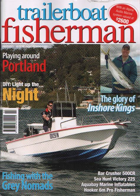 fisherman and boat owner magazine review bar crusher 500cr 535cr trailerboat fisherman