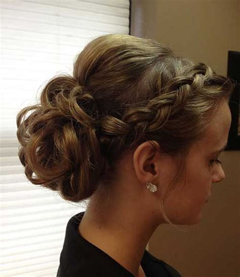 Prom Updos Hairstyles For Hair by Prom Hairstyles To The Side Front And Back Www Pixshark