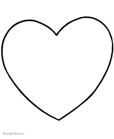 preschool valentine day coloring pages 002