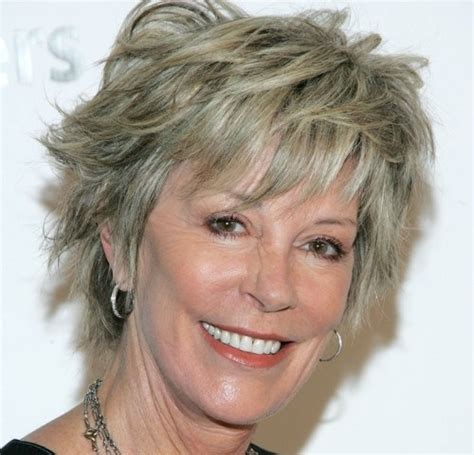 Hair Suggestions For Senior Women | short shaggy hairstyles for older women with fine hair