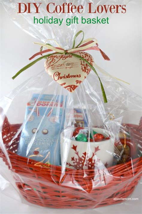 what to put in a christmas basket diy coffee gift basket about a