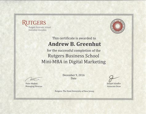 Mini Digital Marketing Mba by Andrew Greenhut