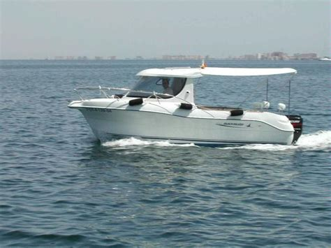 fishing boat quicksilver quicksilver 640 pilothouse in murcia day fishing boats