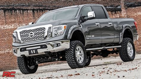 nissan titan xd lifted 2016 2017 nissan titan xd 6 inch suspension lift kit by