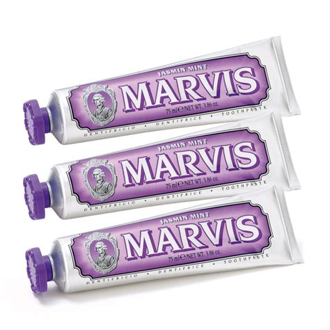 Pindy Mint Pack Of 3 marvis mint toothpaste pack 3 x 75ml buy mankind