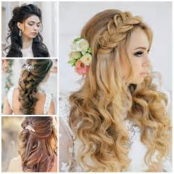 wedding half up half down hairstyles for 2016 haircuts