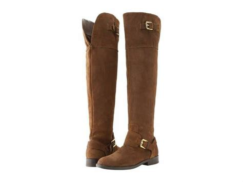 brown suede the knee boots nib ralph jeannette the knee boots brown suede
