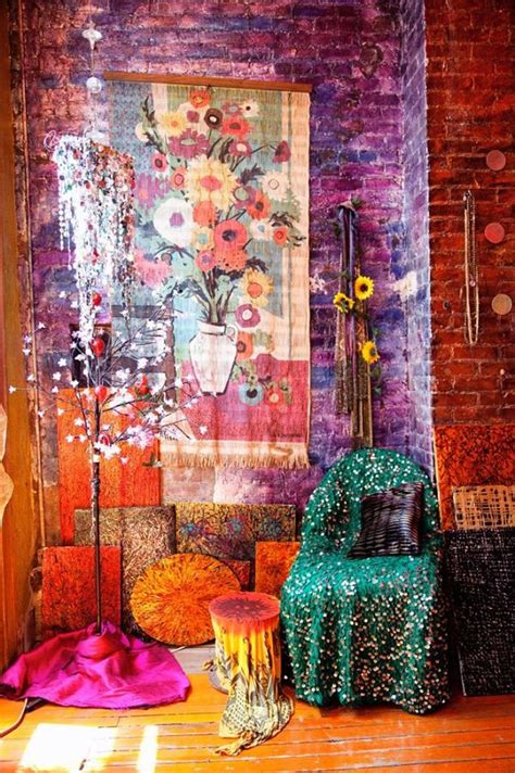 gypsy home decor pinterest meets practical bright bohemian d magazine