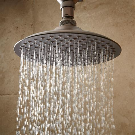 Bostonian Rainfall Shower Head With S Type Arm Bathroom Bathroom Shower Heads