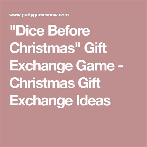 best 25 gift exchange games ideas on pinterest