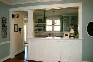 Kitchen Dining Room Wall Creates A New Kitchen For House Hooked