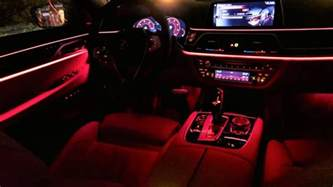 2017 bmw 7 series g11 750d ambient lighting all colors