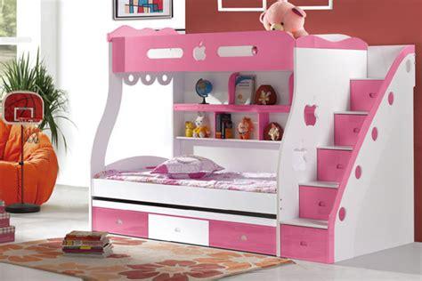 Tempat Tidur Columbia tempat tidur anak tingkat perempuan ini sangatlah cocok