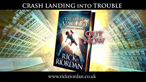 The Trial Of Apollo 1 The Oracle Rick Riordan the trials of apollo the oracle by rick riordan book trailer