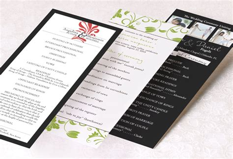 Wedding Program Wording Template by Wedding Program Wording Templateswedding Program Wording