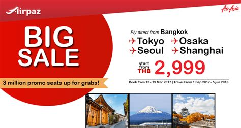 airasia promo code indonesia airasia thailand promotion big sale on airpaz com